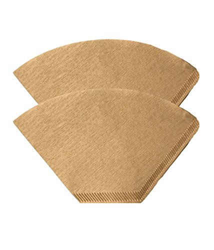 200 Replacements for Unbleached Natural Brown Paper #4 Coffee Disposable Cone Filters, Fits All Coffee Makers With #4 Filters including Melitta, Great for Homemade Coffee, by Think Crucial by Think Crucial