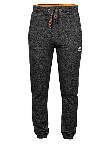 Leadingstar Men's Long Jogging Drawstring Elastic Waistband Lounge Sweat Pants- Black XL