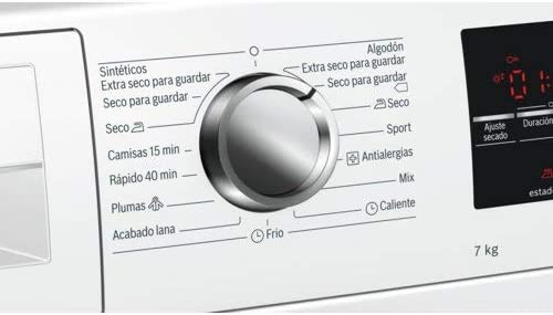 Bosch WTG86262ES Independiente Carga frontal 7kg B Blanco ...
