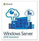 Software : Windows Server Standard 2016, 64-Bit, 16-Core OEM DVD