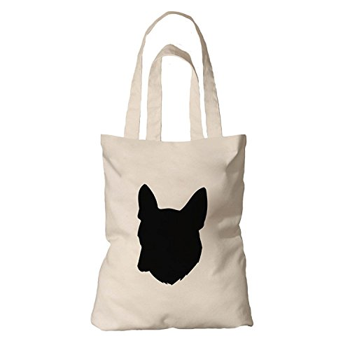 Canvas French Handbag (Tote Bag Organic Cotton Canvas French Bulldog Silhouette By Style In Print Envelope)