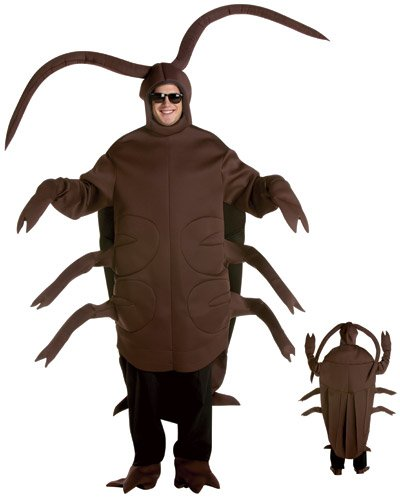 [Rasta Imposta Cockroach, Brown, One Size Fits Most] (Cockroach Costumes)