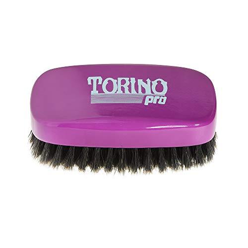 Torino Pro Wave Brush #740 By Brush King - 11 Row Medium Soft 360 Waves Palm Brush