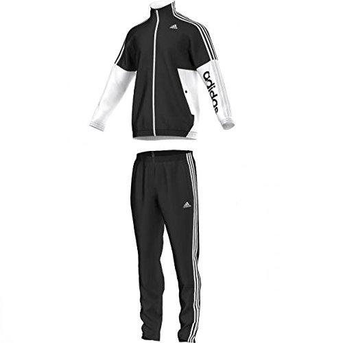 adidas TS BTS KN OC - Chándal para hombre, color negro/blanco ...