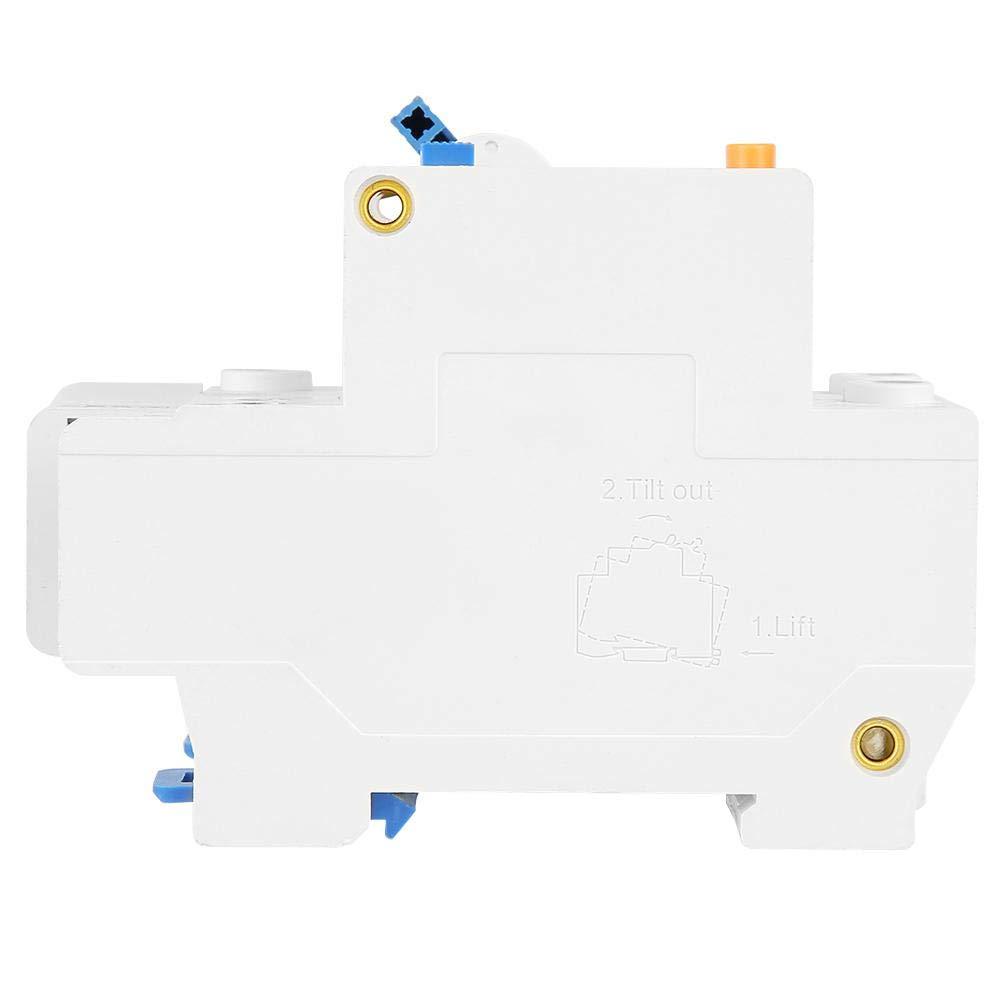 DZ47LE-32 1P sobrecarga N C32 RCCB El interruptor autom/ático de corriente diferencial proporciona fugas el/éctricas protecci/ón contra cortocircuitos 30 mA 230 V