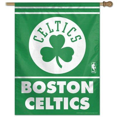 "NBA Boston Celtics 04636014 Vertical Flag, 27"" x 37"", Black"