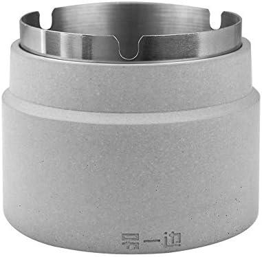 ポータブル管状無煙タバコトレイ|セメント車のタバコの灰皿|きれいにするのが簡単シールキャップカップホルダー (Size : 108*90mm)