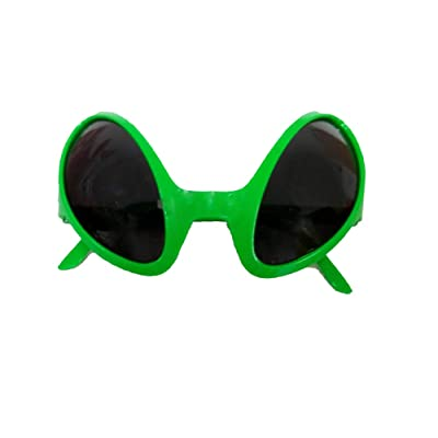 Space Alien Eyes Novelty Glasses Costume Accessory: Toys & Games