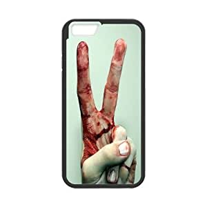 DIY Bloody Hand Iphone6 Plus Case, Bloody Hand Custom Case for iPhone 6 plus 5.5