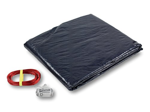 PURELINE Pool Winter Cover for 18' x 38' Oval Above Ground - Oval Ground 38' Above
