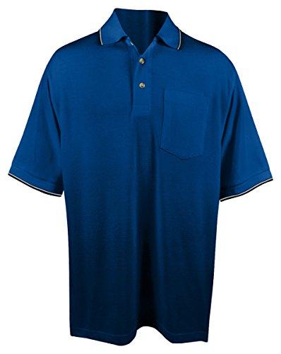 Tri-Mountain Men's 7.8 oz 60/40 Moisture-Wicking Golf Shirt - 117 Conquest