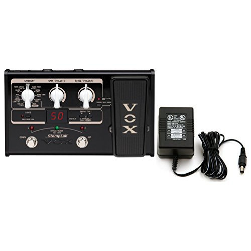 Built In Expression Pedal - Vox Stomplab IIG 2G Guitar Multi-Effects Pedal w/Built-In Expression Pedal and Power Supply