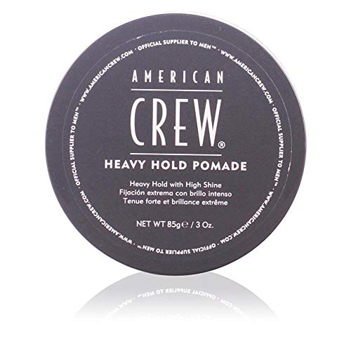 Heavy Hold Pomade American Crew Pomade Men 3 oz (Pack of 2) (Best Medium Hold Pomade)