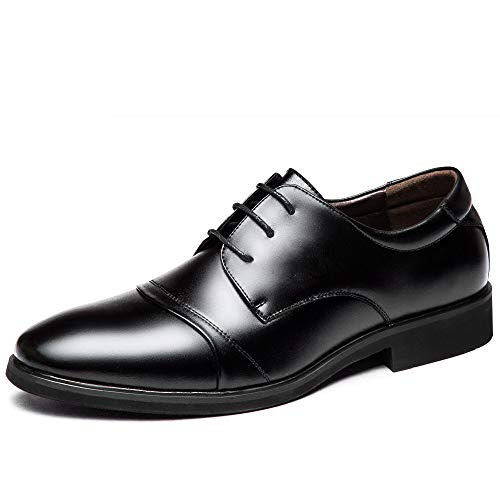 lavorare casual WFL pelle lavorano da uomo pelle in uomo da le scarpe uomo Le Nero da d'affari da da uomo scarpe in uomo per nera vestito da casual uomo Aq8HA
