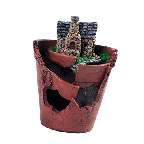 Solar Light Planter Pots - 6