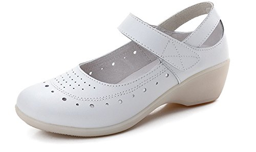LOVEBEAUTY Women's Comfortable Nurse Shoes Work Shoes