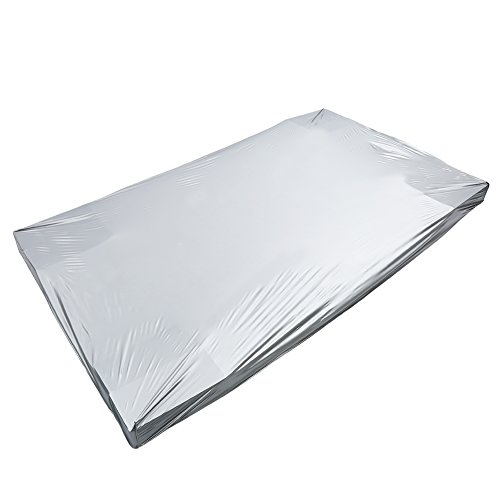 Zerone Pool Table Cover, Waterproof PVC Large Silver Gray Pool Table Cover Dustproof Moistureproof Heavy Duty Billiard Table Cover Accessory for 9 Foot Pool Table by Zerone