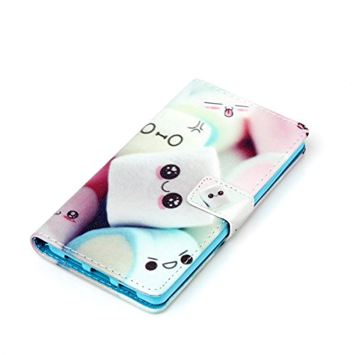 Funda para Huawei P8 Lite, Flip funda de cuero PU para Huawei P8 Lite, Huawei P8 Lite Leather Wallet Case Cover Skin Shell Carcasa Funda, Ukayfe Cubierta de la caja Funda protectora de cuero caso del  Beautiful Places