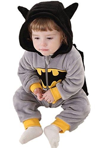 DQdq Unisex Baby Halloween Costume Autumn Outfit Spring Jumpsuits Grey 110/(24-36 Months) (Best Baby Costume)