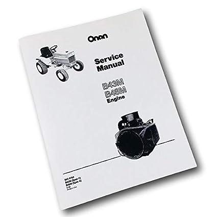 amazon com snapper 1855 garden tractor onan b48m 18hp engine 18 HP Onan Coil amazon com snapper 1855 garden tractor onan b48m 18hp engine service repair manual ovhl garden \u0026 outdoor