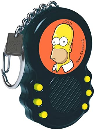 Amazon.com: The Simpsons Homer Talking Keychain: Toys & Games