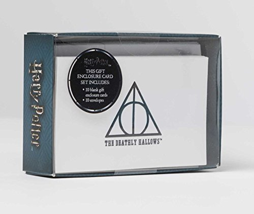 Harry Potter: Deathly Hallows Embossed Foil Note Cards