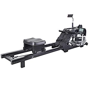 Well-Being-Matters 41z%2BQqcpcML._SS300_ FITPHER Water Resistance Rowing Machine, Indoor Metal Dual-Track Fitness Rowers Equipment for Healthy (Irony)