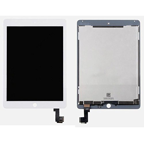 (For iPad Air 2 2nd Gen LCD Touch Screen Digitizer Assembly White Replacement Part USA Seller)