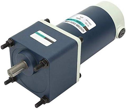 SSY-YU 12V 300W DCギヤードモータ、15ミリメートルシャフトの高ねじり永久磁石DCギヤードメタルギア減速モーター(100RPM) 電動工具用