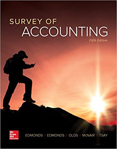Amazon survey of accounting 9781259631122 thomas p edmonds survey of accounting 5th edition fandeluxe Choice Image