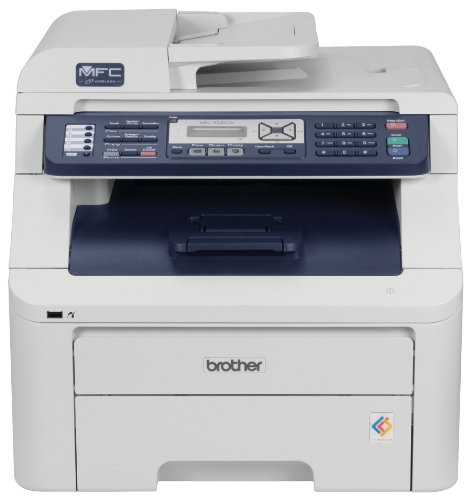 Brother MFC-9320CW Digital Color All-in-One Printer with Wireless Networking (Brother Toner Mfc 9320)
