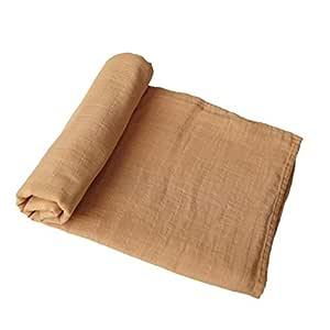 Best Baby//Toddler Gift Premium 4 Layer Muslin Everything Blanket//Dream Blanket Avocado, Stripes Malabar Baby 100/% Organic Cotton Muslin Snug Blanket Oversized 47 inches x 47 inches