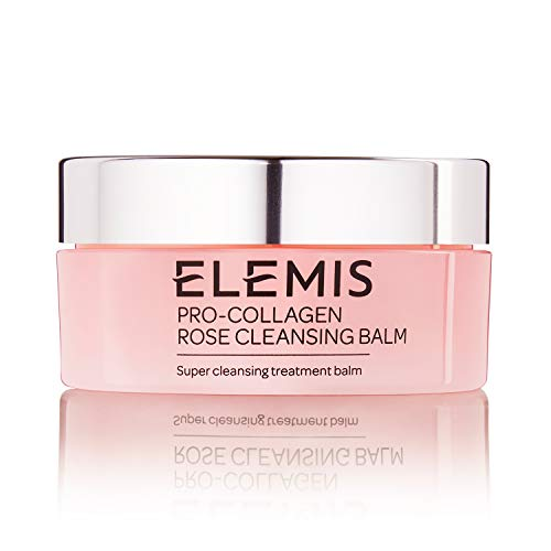 (ELEMIS Pro-Collagen Rose Cleansing Balm, Soothing Cleansing Treatment Balm, 105)