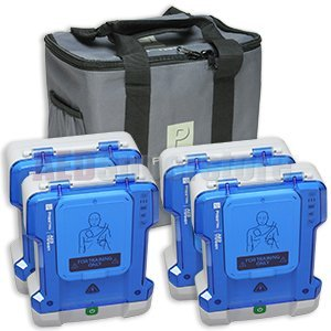 Prestan Professional AED Trainer 4 Pack by Prestan Products