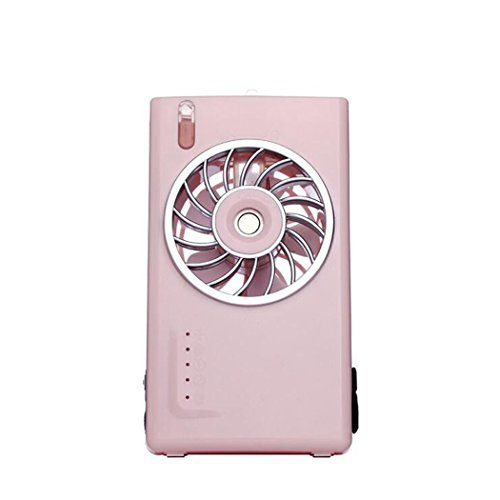 Shoguu Misting Fan Mini USB Travel Portable Emergency Charging Face Spraying Humidifier for Indoor and Outdoor (Pink) by Shoguu