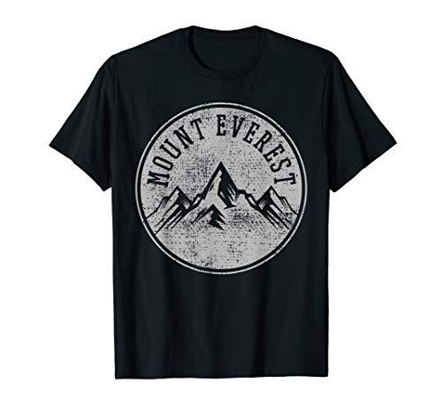 Vintage Mount Everest Mountain Hiking Hiker Climbing Climber T-Shirt