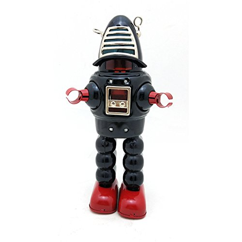 My Toots Classic Vintage Clockwork Wind up Large Robot Photography Children Kids Tin Toys with Key by My Toots (Image #4)