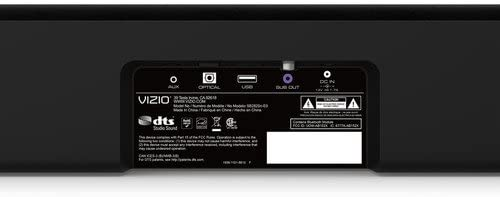 """VIZIO 28/"""" 2.0 Channel Soundbar System SB2820n-E0B Built-In Bluetooth"""