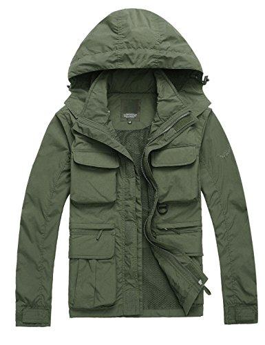 ژاکت جلیقه جلیقه جین ژاکت کت و شلوار سبک وزن سریع در فضای باز مردان Yeokou