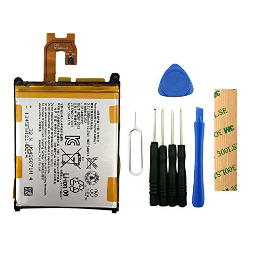 (for Verizon Sony Xperia Z3V D6708 Replacement Battery LIS1543ERPC Free Adhesive Tool)