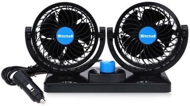 Mitchell Mini Ventilador de Refrigeración 360 Grados Ajustable 2 ...