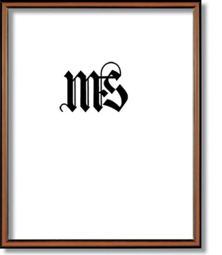 Imperial Frames 16 by 20-Inch/20 by 16-Inch Picture/Photo Frame, Round, Walnut Molding with Gold Leaf