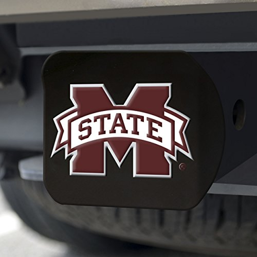 Fanmats NCAA Mississippi State Bulldogs Mississippi State Universitycolor Hitch - Black, Team Color, One Size