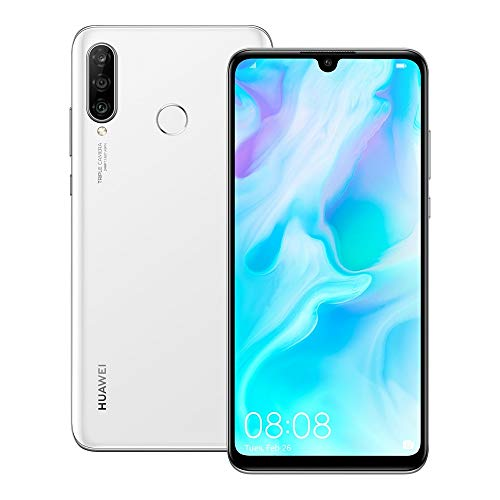 Huawei nova 4e (MAR-LX2) 6GB / 128GB 6.15-inches Dual SIM Factory Unlocked - International Stock No Warranty (Pearl White)