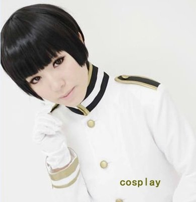 EZ2WORLD APH Axis Powers hetalia APH JAPAN Honda Kiku Short Black Anime Cosplay Wig