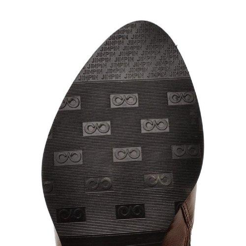 Piede Di Fascino Vintage Donna Basso Tacco A Punta Scarpe Scarpe Casual Nere