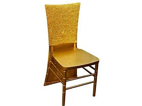 Mikash メタリック スパンデックス スリップカバー 春の新作 椅子カバー ウェディングパーティー レセプションデコレーション モデル WDDNGDCRTN - pieces cl 35インチ B07RH8VSWB ホワイト 店舗 childweddingdecoration-12902 11966 3 100