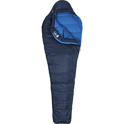 Marmot Ultra Elite 20 Sleeping Bag, Dark Steel Lakeside, Reg 6ft 0in, 39360-1662-Reg 6 0 LZ
