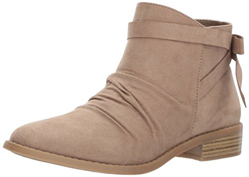 Rampage Women's Rielle Ankle Boot, Taupe Micro, 8 Medium US
