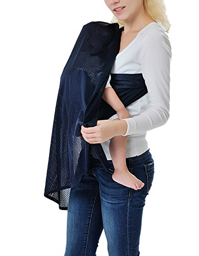 Zicac Child Carrier Slings Adjustable Baby Water Ring Sling Baby Carrier Infant Wrap (Gray)